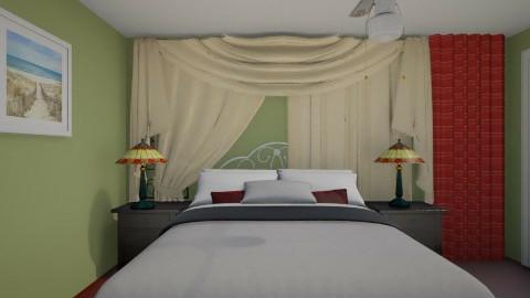 MB Bedroom - Vintage - Bedroom  - by Marybeth Mizell