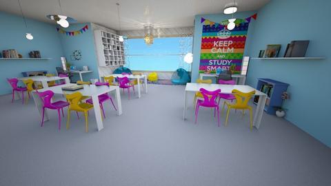 study room - by jennatuttle