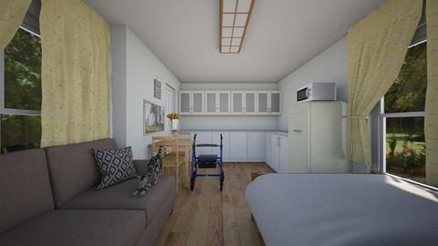 New Granny Pod - Bedroom  - by SammyJPili