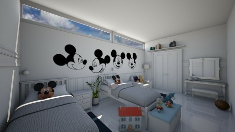 Bedroom Kids - Modern - Kids room - by Jenni Leguiza