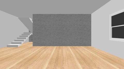 symmetrical living room - Modern - Living room - by unicorn4325