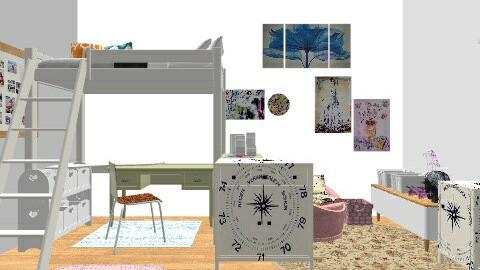 21 - Feminine - Bedroom  - by sketchbookdesign