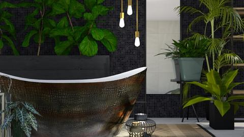 Urban Jungle Bathroom - Bathroom  - by KimAlys
