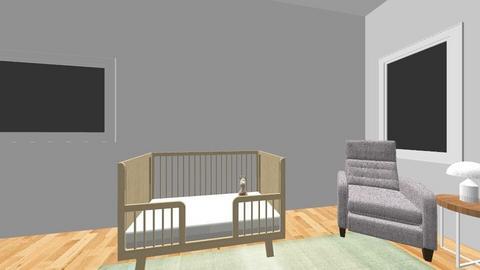 nursery - Modern - Kids room  - by shellybernell