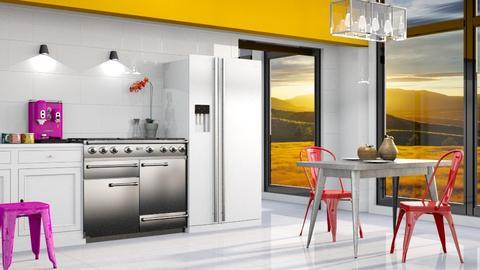 Bring the Heat - Modern - Kitchen  - by Gurns
