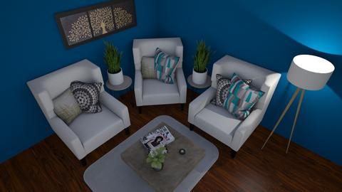 Hangout spot - Living room  - by Rabbit238