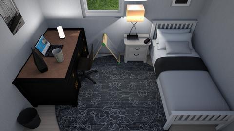 Ingersoll Bedroom 2 - Modern - Bedroom  - by RealBamalam