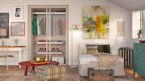 Eclectic Bedroom 2 - Eclectic - Bedroom  - by Sally Simpson