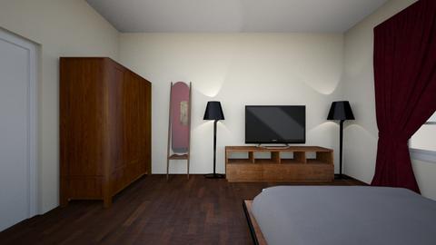 Room1DreamHouse - Bedroom  - by deepu97