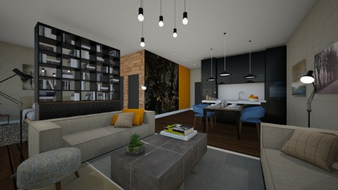 Studio apartment - by FYI