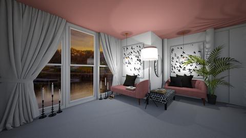 Dusky Pink - Modern - Living room  - by MackenziePaige