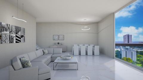 Marble - Modern - Living room - by namiramorell7