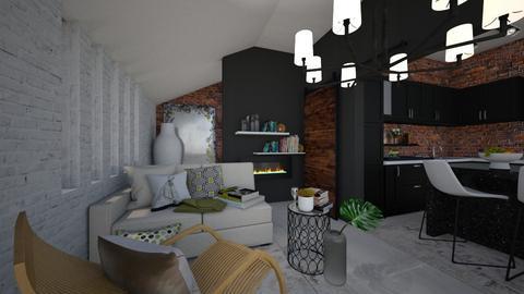 integre - Living room  - by Mounir HSSIN