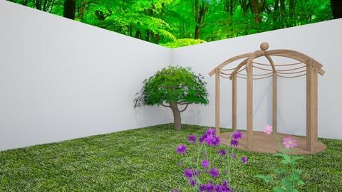 tuin - Garden  - by linde rijk