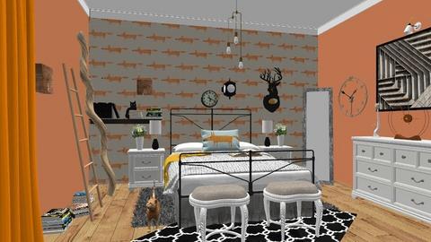 Ecletic Bedroom - Bedroom - by Ancy