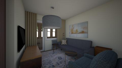 18July - Living room  - by Julia Nick