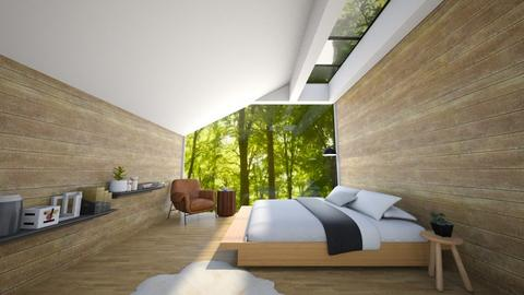 Attic Bedroom - Bedroom  - by heyfeyt