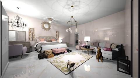 PINK - Feminine - Bedroom  - by miissyyyass