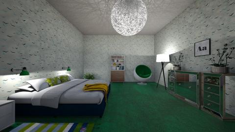 Zzz - Modern - Bedroom  - by rmoral9662