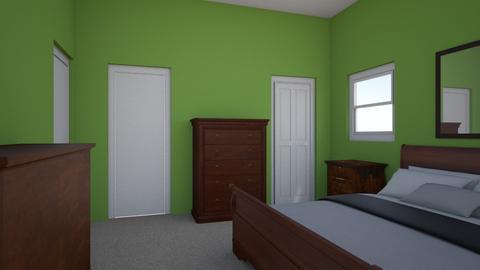 Marital bedroom - Bedroom  - by griecodds