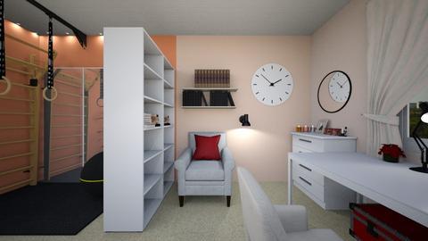 Design kidsroom  - Minimal - Kids room  - by Julia Tsyupko