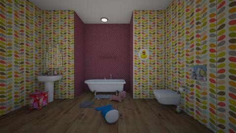 little girls bathroom - Bathroom  - by  Mary Ann
