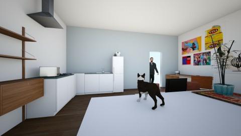 Studio - Retro - Bedroom  - by layavik