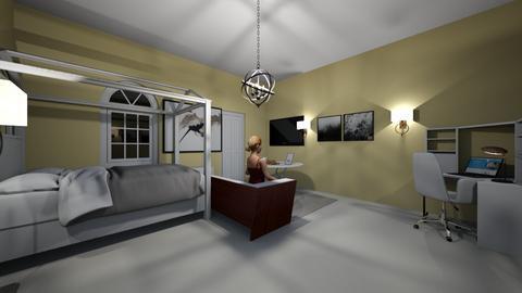room for white girl - Modern - Bedroom  - by nhue