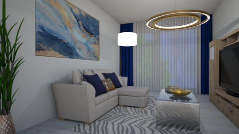 DEM 4 - Modern - Living room  - by fitpaykft