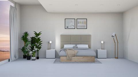 minimalist bedroom - Bedroom  - by elliers11