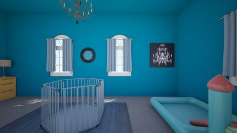 Little Boy Blue Nursery - Kids room - by Elf_prettyballetgirl16