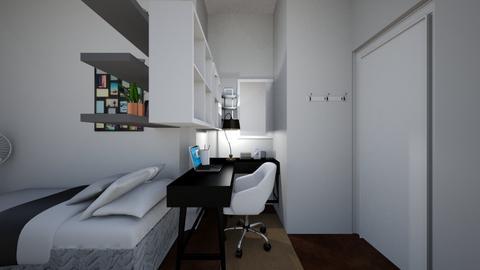 meri - Modern - Bedroom  - by estefaniaaa1619