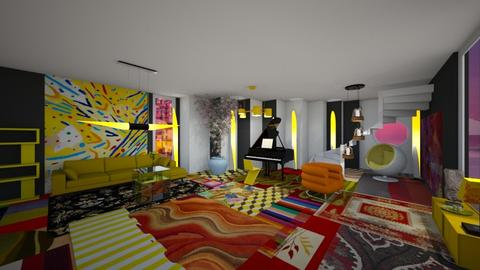 Mildred Thompson - Living room  - by ekaterine