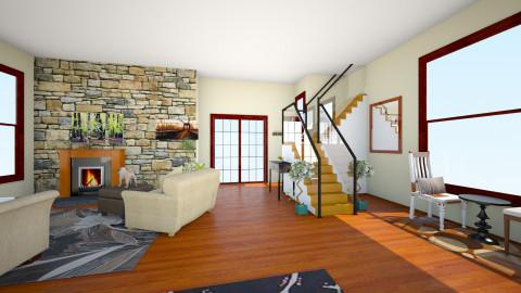 fall living room - Living room - by cassidyjones1999