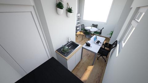 escritorio 3 - Living room  - by tehhrodrigues