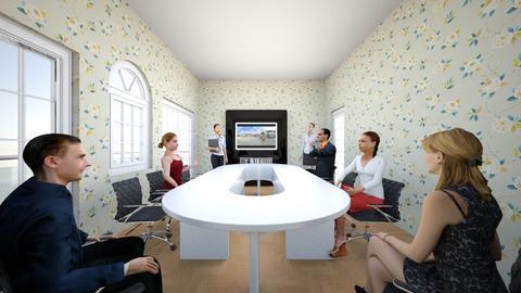 salle de reunion - Office  - by juliesalam