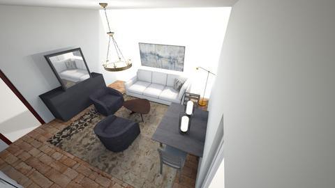 Cortona 2 Living room rev - Living room  - by caltex11