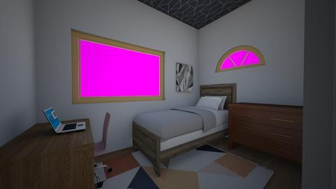 Night Sky Room - Modern - Bedroom - by ClaireCora