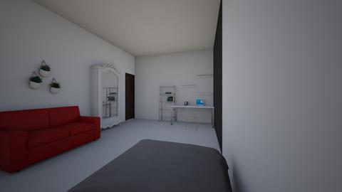 cuarto nuevo - Minimal - Bedroom - by hdziv