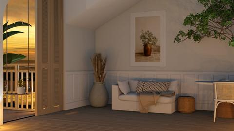 Minimal - Living room  - by Thepanneledroom