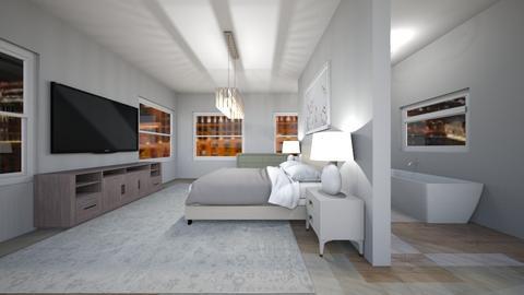 grey room - Bedroom  - by 0955506