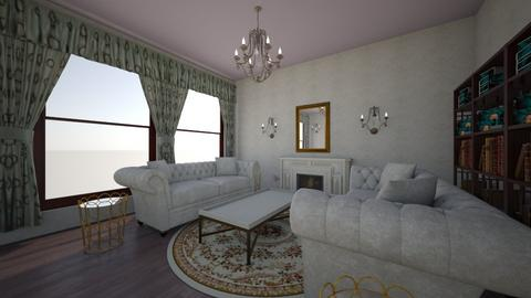 Couture_Mood_Room - Vintage - Living room  - by m4r