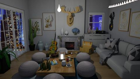 Indoor picnic - Living room  - by Chrispow0105