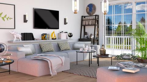 M_ living - Living room  - by milyca8