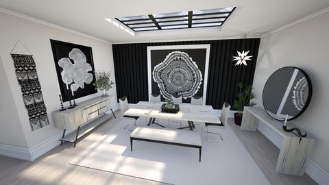 Scandinavian Dining Room  - Dining room  - by luna smith