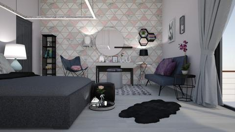 dery bedroom - Eclectic - Bedroom - by mari mar