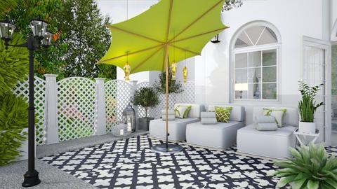 Pool Pavilion 3 - Garden  - by Fofinha