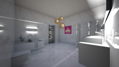 Gold Bathroom - Bathroom  - by xeniaaa
