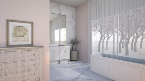 Cherry Blossom Bathroom - Bathroom  - by dia17a