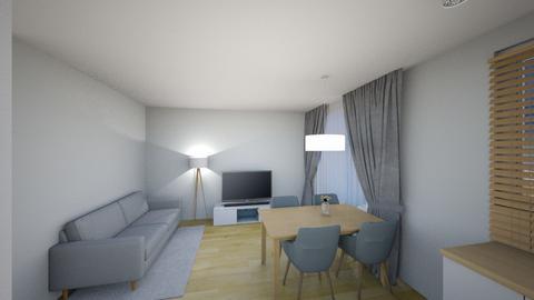 Swiatlo 2a - Living room - by KatarzynaLaszczyk